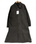 THE HINOKI(ヒノキ)の古着「コットン馬布クロスコート」|グレー