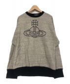 Vivienne Westwood(ヴィヴィアンウエストウッド)の古着「STITCH ORB SWEAT SHIRTS」|グレー