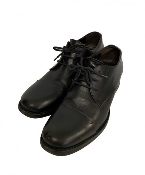 BUTTERO(ブッテロ)BUTTERO (ブッテロ) レザーシューズ ブラック サイズ:41 1100の古着・服飾アイテム