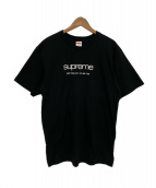 Supreme(シュプリーム)の古着「Shop Tee」 ブラック