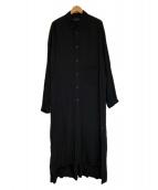syte(サイト)の古着「ロングシャツ」 ブラック