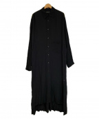 syte(サイト)の古着「ロングシャツ」|ブラック