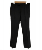 JOHN LAWRENCE SULLIVAN(ジョンローレンスサリバン)の古着「トラウザーパンツ」 ブラック