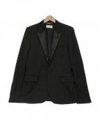 Saint Laurent Paris()の古着「スモーキングジャケット」|ブラック