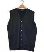 JOHN SMEDLEY(ジョンスメドレー)の古着「ニットベスト」|グレー