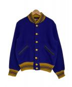 JOE McCOY'S(ジョーマッコイ)の古着「90'Sスタジャン」|ブルー