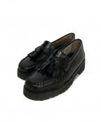 G.H.BASS(ジーエイチバス)の古着「タッセルローファー」|ブラック
