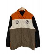 UNDERCOVER(アンダーカバー)の古着「カラーブロックコーチジャケット」|マルチカラー