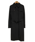 BURBERRY LONDON(バーバリーロンドン)の古着「ライナー付ステンカラーコート」|ブラック