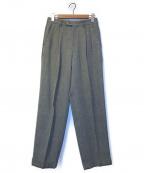 KENZO(ケンゾー)の古着「[OLD]ヴィンテージ2タックパンツ」|グレー