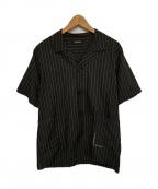 CHRISTIAN DADA(クリスチャンダダ)の古着「カットオフショートスリーブシャツ」 ブラック