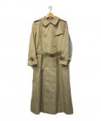 Burberry's(バーバリーズ)の古着「[OLD]ノヴァチェックライナー付トレンチコート」 玉虫ベージュ