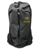 ()の古着「アロー22バックパック」 ブラック