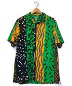 MONITALY(モニタリー)の古着「バケーションシャツ」|グリーン