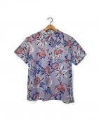 CALEE(キャリー)の古着「アロハシャツ」|スカイブルー