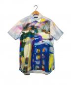 tsumori chisato(ツモリチサト)の古着「プリントオーバーサイズS/Sシャツ」|マルチカラー