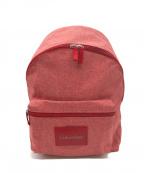Calvin Klein(カルバンクライン)の古着「リュック」|ピンク