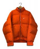 ()の古着「[OLD]90'sバックロゴダウンジャケット」|オレンジ