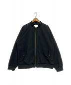 ()の古着「ALPHADRY Varsity Jacket」|ブラック