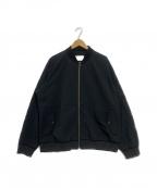 nanamica(ナナミカ)の古着「ALPHADRY Varsity Jacket」|ブラック
