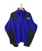 ()の古着「[OLD]90'sアルマディアハーフジップボアジャケット」 ブルー