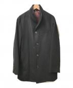 COMME CA ISM(コムサイズム)の古着「ショートスタンドコート」 ブラック