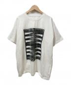 MM6(エムエムシックス)の古着「プリントTシャツ」|ホワイト