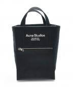 Acne studios()の古着「ミニベイカートートバッグ」|ブラック