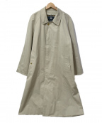 BURBERRY LONDON()の古着「裏ノヴァチェックステンカラーコート」|ベージュ