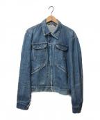 MAVERICK()の古着「[OLD]60sジップアップデニムジャケット」|インディゴ