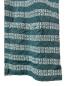 中古・古着 SUPREME (シュプリーム) 総柄キーストライプオープンカラーS/Sシャツ グリーン サイズ:M 19SS key Stripe S/S Shirt:9800円
