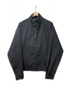 ()の古着「70sジップアップジャケット」|ネイビー
