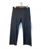 YAECA CONTEMPO(ヤエカ コンテンポ)の古着「ワイドパンツ」|ブラック