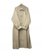 CIOTA(シオタ)の古着「バルマカンコート」|ベージュ