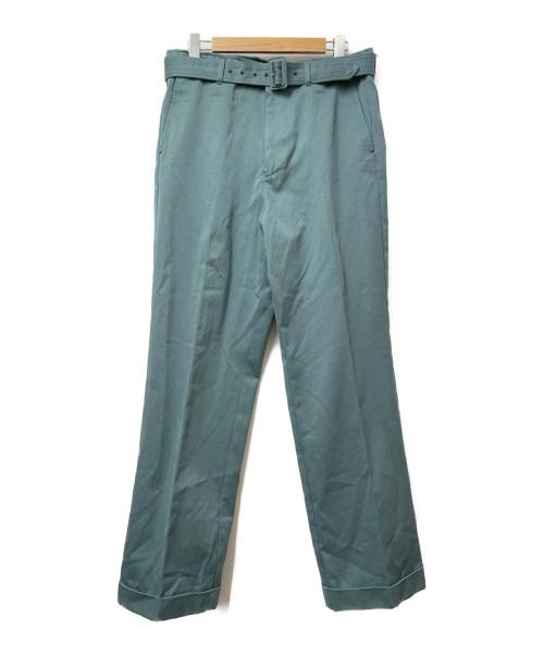 UNUSED(アンユーズド)UNUSED (アンユーズド) ワイドテーパードパンツ グリーン サイズ:3 UW0840の古着・服飾アイテム