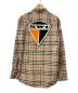 BURBERRY (バーバリー) ロゴグラフィックヴィンテージチェックシャツ ベージュ サイズ:M 19AW CLASSIC FIT LOGO GRAPHIC VINTAGE CHECK SHIRT:39800円