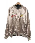 ()の古着「スカジャン」|ピンク