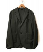 ()の古着「ウールモヘア2Bテーラードジャケット」|ブラック