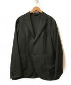 nestrobe confect(ネストローブ コンフェクト)の古着「ウールモヘア2Bテーラードジャケット」 ブラック