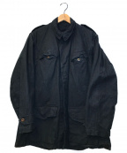 MILITARY(ミリタリー)の古着「[OLD]オールドミリタリージャケット」 ブラック
