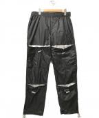 M+RC NOIR(マルシェノア)の古着「エラスティックパンツ」|ブラック