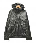 M+RC NOIR(マルシェノア)の古着「ロゴカーボンジャケット」|ブラック