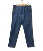 WESTOVERALLS(ウエストオーバーオールズ)の古着「テーパードデニムパンツ」 インディゴ