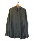 STILL BY HAND(スティルバイハンド)の古着「製品染めL/Sシャツ」 グレー