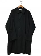 MARKA(マーカ)の古着「シャツロングコート」|ブラック
