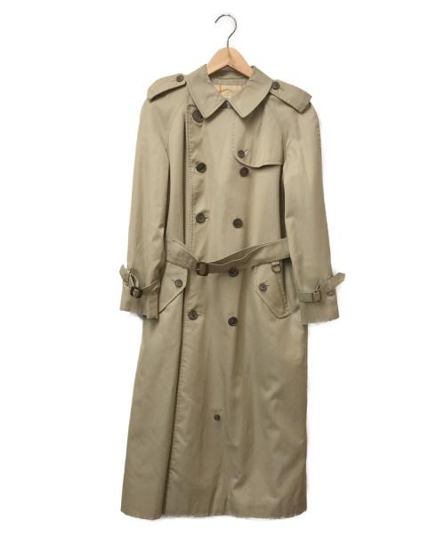 Burberrys(バーバリーズ)Burberrys (バーバリーズ) [OLD]トレンチコート ベージュ サイズ:記載無 裏地ノヴァチェックの古着・服飾アイテム