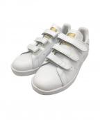 adidas()の古着「ベルクロローカットスニーカー」|ホワイト