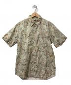 Paul Smith COLLECTION(ポールスミスコレクション)の古着「S/S総柄シャツ」 ベージュ