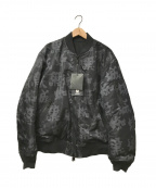 UNDERCOVER()の古着「リバーシブルMA-1ジャケット」|ブラック×グレー