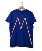 MONCLER(モンクレール)の古着「MAGLIA T-SHIRT」|ブルー